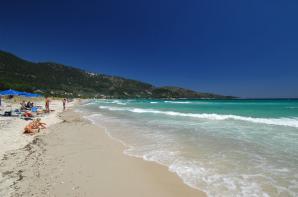 Παραλία Σκάλας Παναγίας - Χρύση Αμμουδιά