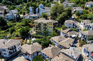 Aerial photo of Panagia